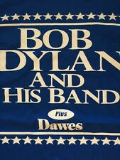Bob Dylan and His Band Plus Dawes T-Shirt Tee Event Staff Rock Band Music sz XL