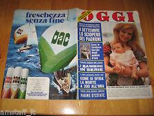 OGGI 1974/31=CASALSIGONE=ORESTE LIONELLO=MINNIE MINOPRIO=LELLA LOMBARDI=