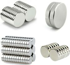 small & large NEODYMIUM MAGNETS ~ 1mm 2mm 3mm thick ~ Round Rings Cylinder Discs
