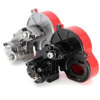 SCX10 Metall Getriebe Transmission Box Enthalten Getriebe für 1/10 Rc Crawl E6C7
