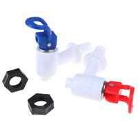 2x Universal Push Type Plastic Water Dispenser Faucet Tap Replacement Parts QP
