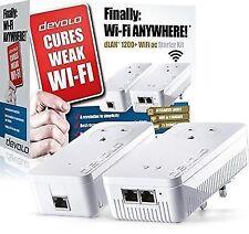devolo 9392z2 Powerline dLAN 1200 WiFi AC Passthrough 4 Adapter Network Kit