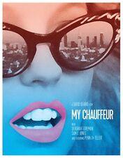My Chauffeur Blu Ray & DVD Vinegar Syndrome 1985 Deborah Foreman David Beaird