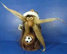 "Neta Arensbak Hand Made Soccer Troll Signed Ed 5 Arts Studio 6"" w/ Tag Usa Euc"