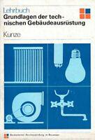 Grundlagen der technischen Gebäudeausrüstung DDR-Lehrbuch 1973 Berufsausbildung