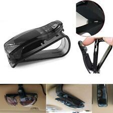 Car Sun Visor Clips Sunglasses Eyeglasses Pen Cards Holder Clip Black Vehicle DO