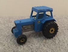 Vintage Retro Matchbox Superfast 1978 Ford Tractor Blue Toy 46