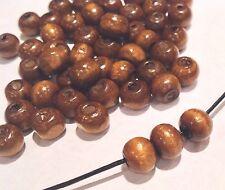 Wooden Beads. 9mm. Pack Of 125. Uk Seller