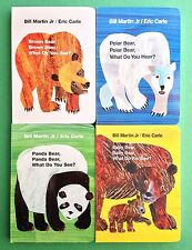 Eric Carle Childrens Books Brown Polar Panda Baby Bear Board Book Box Set