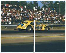 "1970s Drag Racing-Bill Mitchell's ""THUNDER BUG""-VW Gasser-MOTION MINICAR-H/G"