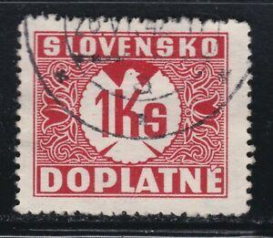 Slovakia - Scott # J8
