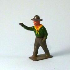 Vintage Lead 1 COWBOY * VGC * 1950s by CRESCENT - Britains Era Wild West
