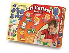 FEUCHTMANN Art-Cutters Safari-Set mit Relief Ausstechförmchen Basteln Kneten