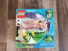 New NIB LEGO Sports Soccer Shoot N Score Building Toy Set 3401