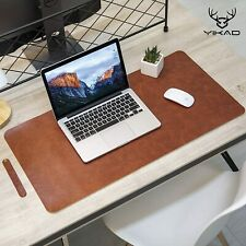 Yikda Extended Leather Gaming Mouse Pad/Mat, Large Office Writing Desk Computer