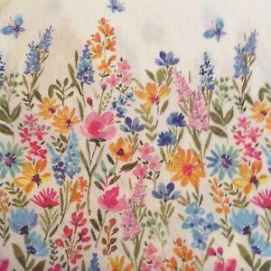 paper napkins decoupage x 2 flowers & butterflies 33cm