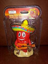 Solar Power Dancing Toys Red Chili Pepper