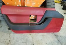 90-93 Corvette Driver Side Red Door Panel