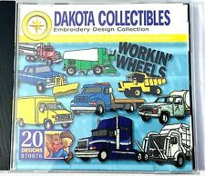 Dakota Collectibles Embroidery Software Trucks 20 Designs