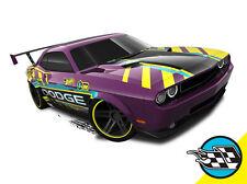 Hot Wheels Cars - Dodge Challenger Purple