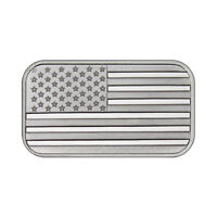 One Ounce Silvertowne Mint .999 Silver American Flag Bar 1 oz