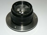 """BAUSCH LOMB  8 1/4 """" (210 mm) F4.5 LARGE FORMAT BARREL LENS COVERS 5x7"""""""