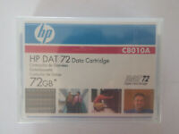 HP DAT72/DAT 72 Data Tape/Cartridge 36/72GB C8010A 4mm NEW