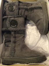Micheal Kors Winter Talk Boot Suede/Real Fur
