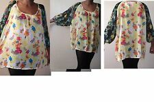 Semi Fitted Floral Plus Size NEXT Tops & Shirts for Women