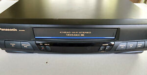 Panasonic Omnivision PV-9450 VCR 4-Head VHS Player Recorder w/ Remote TESTED