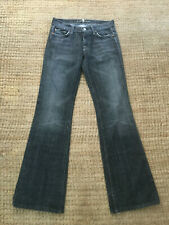 GREAT Ladies 7 Seven For All Mankind GREY Bootcut Jeans W27 32L Slight stretch