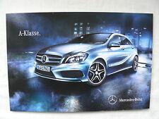 Mercedes-benz a-Klasse w176-folleto brochure 09.2012