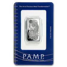 1/2 oz Platinum Bar - Pamp Suisse (In Assay) - SKU #93597