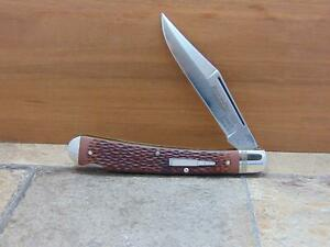 Remington Bullet Knife R1253, Large Trapper, G.A.K.C. 1 of 50, St Louis Arch