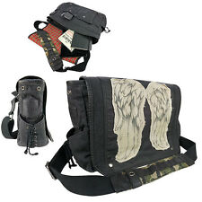The Walking Dead DARYL DIXON wings Messenger Bag OFFICIALLY LICENSED NWT