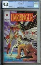 Harbinger #3 CGC 9.4 1st App Ax & Rexo. Valiant Coupon Included