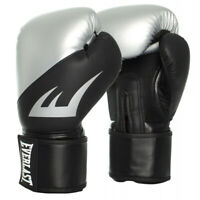 Everlast 16oz. EX Training Boxing Gloves in Silver With Black