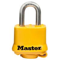 "Master Lock 315SSKADHC Laminated Padlock with Stainless Steel Shackle, 1-1/2"""