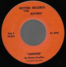 ROTTERS Sit On My Face Stevie Nicks b/w Amputee original press punk 45 1979 MINT
