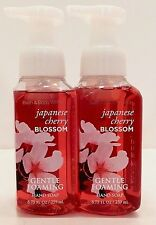 2 BATH & BODY WORKS JAPANESE CHERRY BLOSSOM GENTLE FOAMING HAND SOAP 8.75oz NEW!