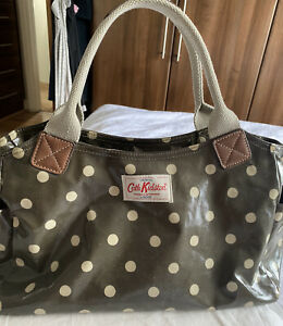 Cath Kidston Khaki Dotty Tote Bag