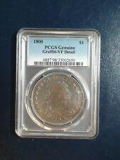 1800 DRAPED BUST DOLLAR PCGS VF SILVER $1 Coin PRICED TO SELL NOW!