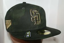 San Diego Padres New Era Armed Forces Day On-Field MLB 59fifty,Cap,Hat   NEW