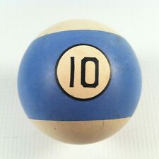 Vintage Clay Replacement Billiards/Pool Ball #10