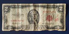 1953 series. Two ( 2 ) Dollar Bill RED SEAL from U.S.A.