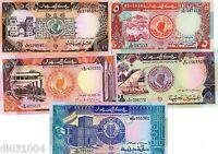 LOT SET SERIE 5 Billets AFRIQUE DU NORD // NORTH AFRICA  1991 - 1992 NEUF UNC