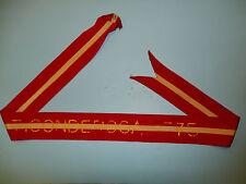 104 US Army  Streamer Revolutionary War Ticonderoga 1775