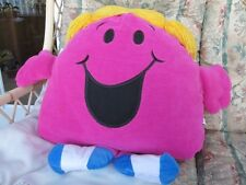 "VERY LARGE 18-24"" LITTLE MISS CHATTERBOX MR MAN SOFT TOY CUSHION BY GOSH"