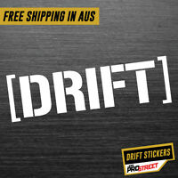 DRIFT JDM CAR STICKER DECAL Drift Turbo Euro Fast Vinyl #0137
