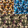 Polyotton Fabric Large Camouflage Army Jungle Urban Desert